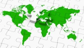 世界难题 免版税图库摄影