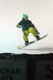 世界雪板游览格兰披治DE RUSSIE 库存照片