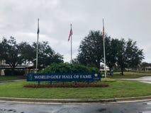 世界高尔夫球名人堂,圣奥斯丁, FL 免版税图库摄影