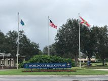 世界高尔夫球名人堂,圣奥斯丁, FL 免版税库存照片