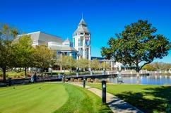 世界高尔夫球名人堂-圣奥斯丁, FL 免版税库存图片