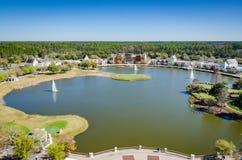 世界高尔夫球名人堂-圣奥斯丁, FL 免版税库存照片
