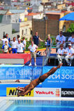 2013年世界水上冠军,在巴塞罗那,西班牙 库存图片