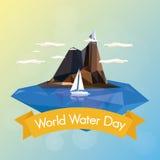 世界水天 免版税图库摄影
