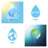 世界水天 免版税库存照片