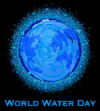 世界水天 免版税库存图片