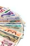 世界货币 图库摄影