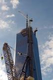 世界贸易中心一个尖顶 免版税库存照片