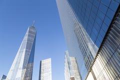 世界贸易中心一号大楼在纽约 免版税库存照片
