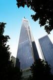 世界贸易中心一号大楼纽约 免版税图库摄影