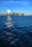 世界贸易中心一号大楼自由塔在纽约 免版税库存照片