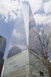世界贸易中心一号大楼,在NYC的自由塔 免版税库存照片