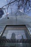 世界贸易中心一号大楼-最高buidling在新的约克曼哈顿-纽约- 2017年4月1日 库存照片