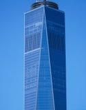 世界贸易中心一号大楼-最高buidling在新的约克曼哈顿-纽约- 2017年4月1日 免版税图库摄影