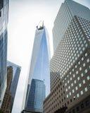 世界贸易中心一号大楼 免版税库存照片