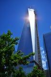 世界贸易中心一号大楼 免版税库存图片