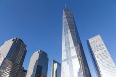 世界贸易中心在纽约 库存照片