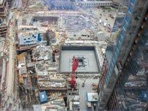 世界贸易中心遗址建筑- NYC 库存照片