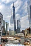 世界贸易中心遗址-纽约 库存照片