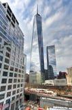 世界贸易中心遗址-纽约 免版税库存图片