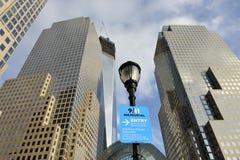 世界贸易中心,曼哈顿,纽约, NY 库存图片