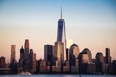 世界贸易中心,纽约, NY 库存图片