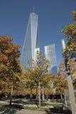 世界贸易中心, WTC,爆心投影,纽约 免版税库存照片