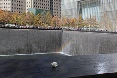 世界贸易中心, WTC,爆心投影,纽约 免版税图库摄影
