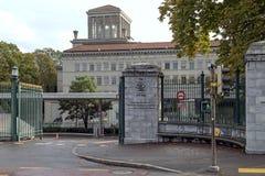 世界贸易组织的大厦 免版税库存照片