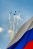世纪俄语空军队 免版税库存图片