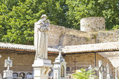 18世纪公墓 免版税库存照片