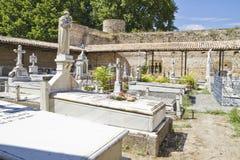 18世纪公墓 图库摄影