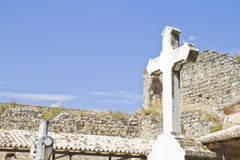 18世纪公墓 免版税库存图片