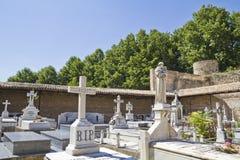 18世纪公墓 库存图片