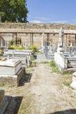 18世纪公墓 免版税图库摄影