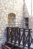 14世纪卡齐米日Dolny废墟防御,防御设防,波兰 免版税图库摄影