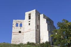 14世纪卡齐米日Dolny废墟防御,防御设防,波兰 免版税库存图片