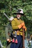 17世纪历史的节日 免版税库存图片