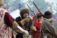 17世纪历史的节日 库存图片