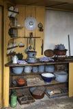 19世纪厨房-荷兰 免版税图库摄影