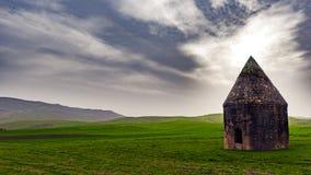 16世纪古老历史陵墓复合体  Shemakhy市,阿塞拜疆区  免版税库存照片