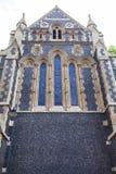 12世纪哥特式样式Southwark大教堂,伦敦,英国 库存图片
