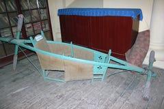 19世纪喜马偕尔邦,印度Dandi椅子  图库摄影