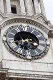 18世纪圣保罗大教堂,伦敦,英国 免版税库存照片