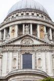 18世纪圣保罗大教堂,伦敦,英国 库存图片