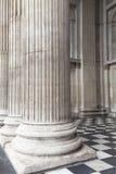 18世纪圣保罗大教堂,伦敦,英国 免版税库存图片