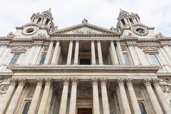 18世纪圣保罗大教堂,伦敦,英国 图库摄影