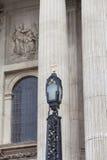 18世纪圣保罗大教堂,灯笼,伦敦,英国 库存图片