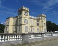 18世纪城堡 免版税库存图片