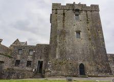 16世纪塔家的Dunguaire城堡 库存图片